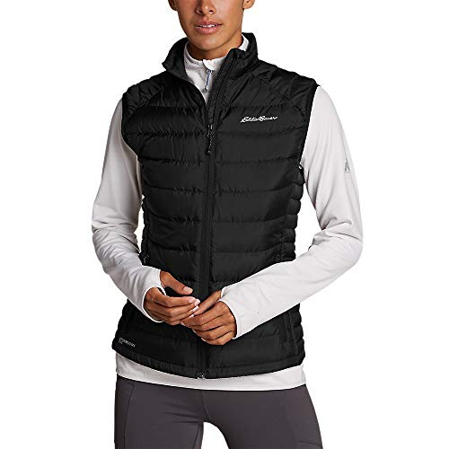 Eddie Bauer Women's Downlight Vest, Blk Regular