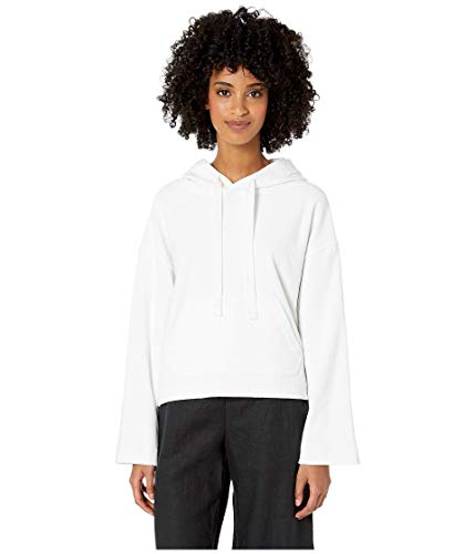 Vince Wide Sleeve Hoodie Optic White MD