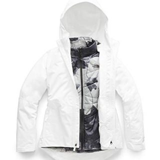 The North Face Women's Clementine Triclimate Jacket, TNF White