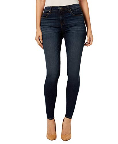KUT from The Kloth Mia High-Waist Skinny in Goodly Goodly/Stone Base Wash