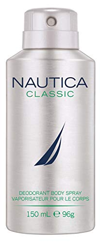 Nautica Deodorant Body Spray for Men, Classic