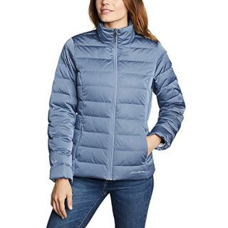 Eddie Bauer Women's CirrusLite Down Jacket, Dusty Blue Regular S