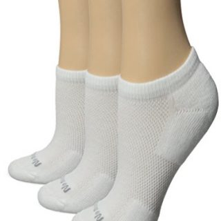 No nonsense Women's Mesh No Show Liner Socks, Cushioned