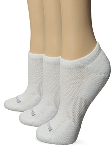 No nonsense Women's Mesh No Show Liner Socks, Cushioned