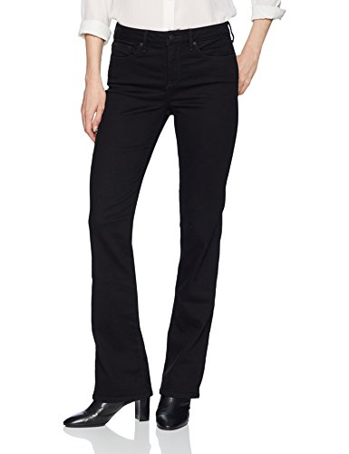 NYDJ Women's Barbara Boot-Cut Jeans, New Black