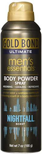Gold Bond Ultimate Men's Essential Body Powder, Nightfall Scent