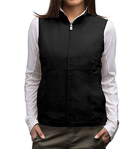 SCOTTeVEST RFID Travel Vests for Women 18 Pockets - Black Utility Vest for Women
