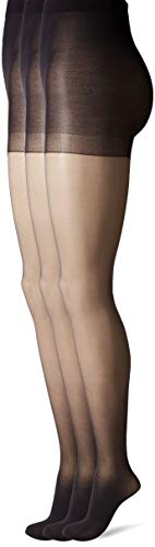 HUE Women's Age Defiance Sheer Pantyhose with Control Top