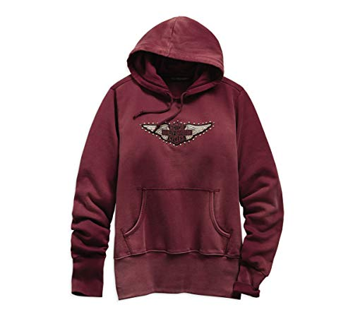 HARLEY-DAVIDSON Official Women's Studded Wing Pullover Hoodie