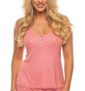 Velvet Kitten Sweetness Short Sexy PJ Camisole Set Pajama Sleep Shirt Sleepwear