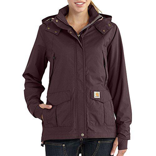 Carhartt Women's Shoreline Jacket (Regular Sizes), Deep Wine