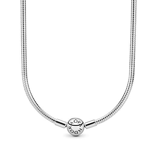 Pandora Jewelry - Moments Snake Chain Charm Necklace for Women