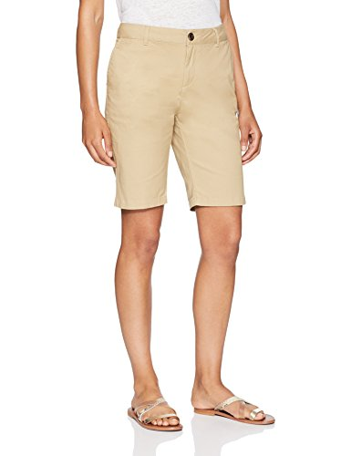 "Amazon Essentials Women's 10"" Inseam Solid Bermuda Short Shorts"
