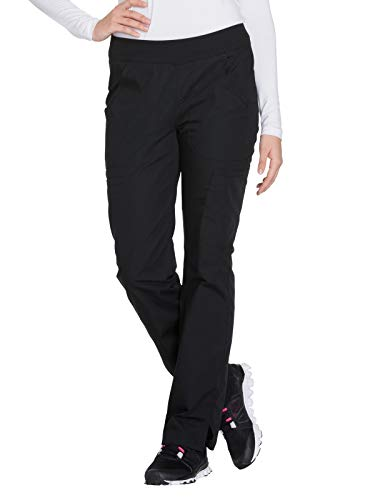 CHEROKEE Women's Mid Rise Straight Leg Pull-on Cargo Pant