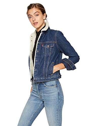 Levi's Women's Original Sherpa Trucker Jackets, Look of Love