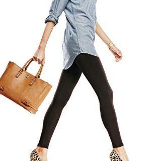 No Nonsense Women's Blackout Legging, Black, M