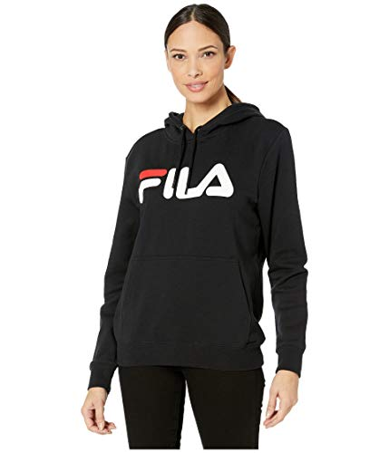 Fila Lucy Hoodie Black/White/Chinese Red LG