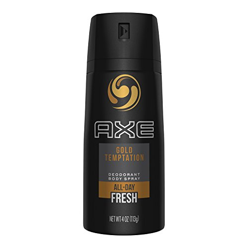AXE Body Spray for Men, Gold Temptation