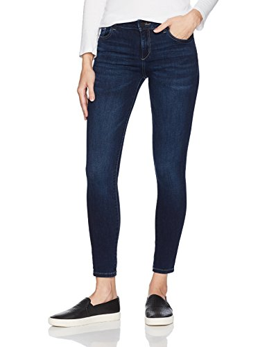 DL1961 Women's Florence Ankle Instasculpt Skinny Jean, salt creek
