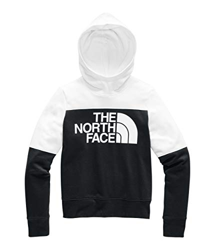 The North Face Women's Drew Peal Pullover Hoodie, TNF Black/TNF White