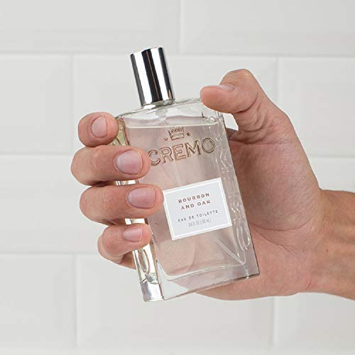 Cremo Cologne Spray, Bourbon & Oak