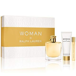 Woman By Ralph Lauren Gift Set (Perfume 3.4oz 100ml + Body Lotion 2.5 oz 75ml)