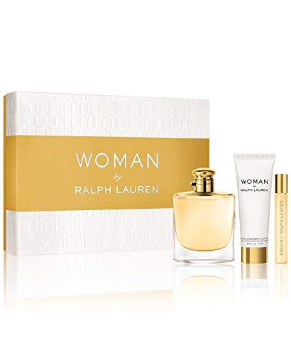 Woman By Ralph Lauren Gift Set (Perfume 3.4oz 100ml + Body Lotion 2.5 oz 75ml)