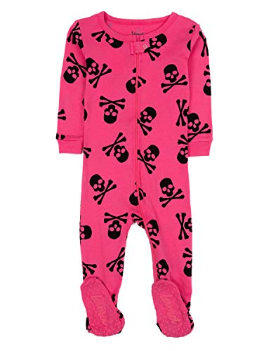 Leveret Kids Pajamas Baby Boys Girls Footed Pajamas Sleeper 100% Cotton