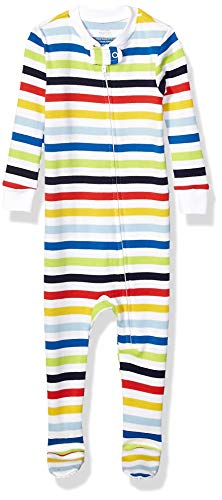 Amazon Essentials Kid's Baby and Toddler Zip-Front Footed Sleeper