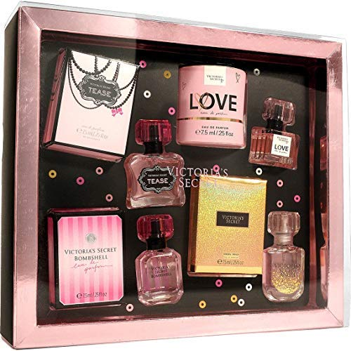 Victoria's Secret Eau de Parfum 4pc Set - Bombshell, Love, Tease