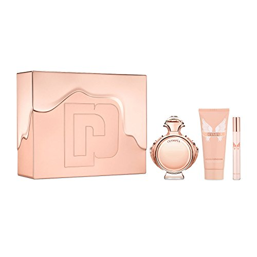 Paco Rabanne Paco Rabanne Olympea for Women 3piece Tin Box Set