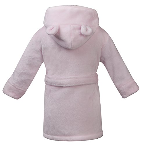 Baby Boys & Girls Unisex Dressing Gown (Ages 6-24 Months) Soft Plush Flannel