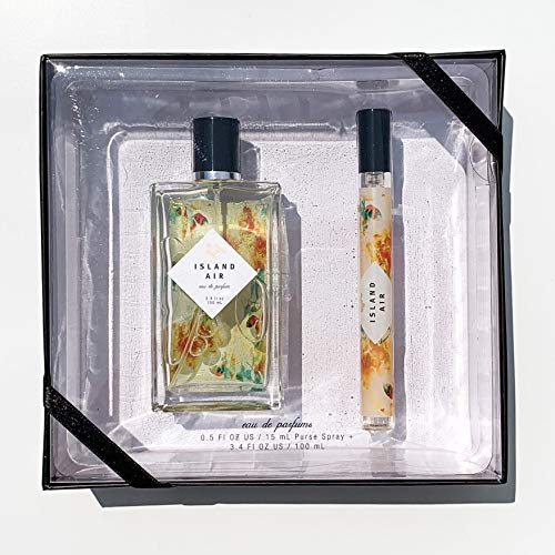 Island Air Eau De Parfum Holiday Gift Set by Tru Fragrance - Fresh and Bright