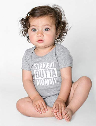 Tstars Straight Outta Mommy Infant Gift for New Mom Funny Cute Unisex