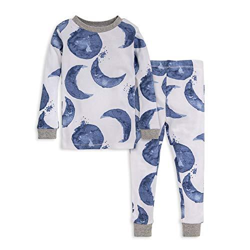 Burt's Bees Baby Unisex Baby Pajamas, Tee and Pant 2-Piece PJ Set