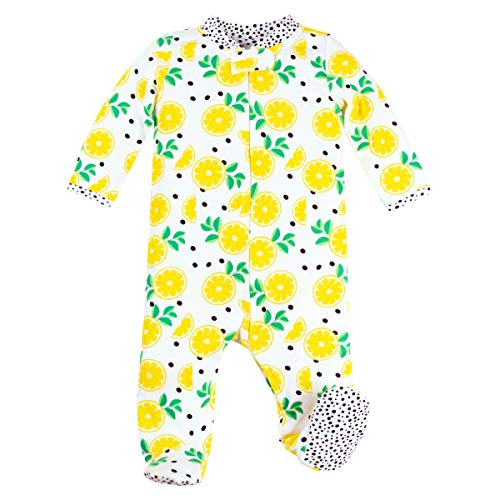 Lamaze Organic Baby Organic Baby Girl, Boy, Unisex Sleep n Play, Yellow Lemons