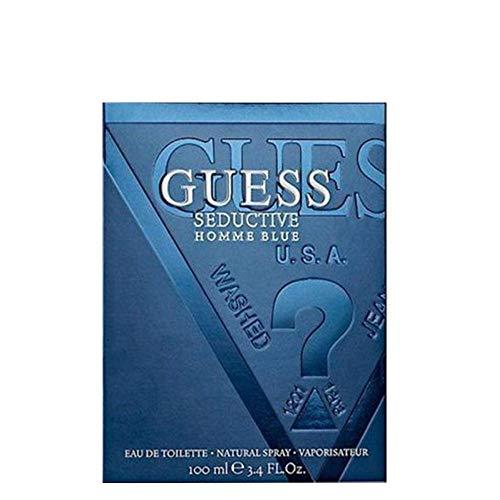 Guess Seductive Homme Eau De Toilette Spray for Men, Blue