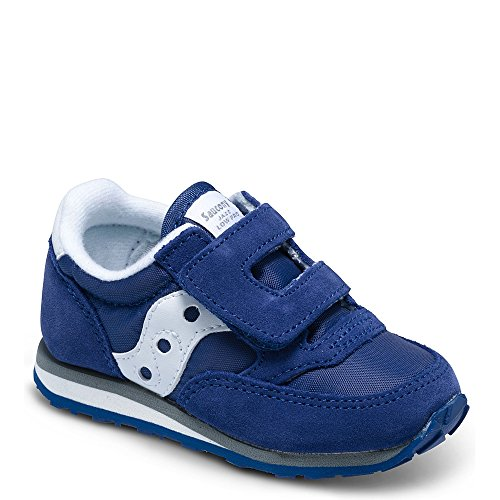 Saucony Jazz Hook & Loop Sneaker (Toddler/Little Kid), Cobalt Blue