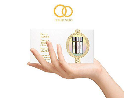 FLEURS - 3 Pieces Wedding Perfume Gift Set for Women, Perfume Oil