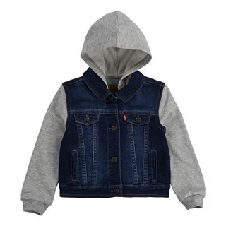 Levi's Baby Hooded Trucker Jacket, Indigo Dusk