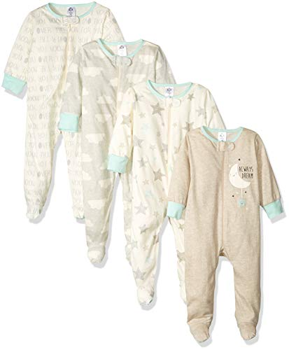 GERBER Baby 4-Pack Sleep 'N Play, Elephants
